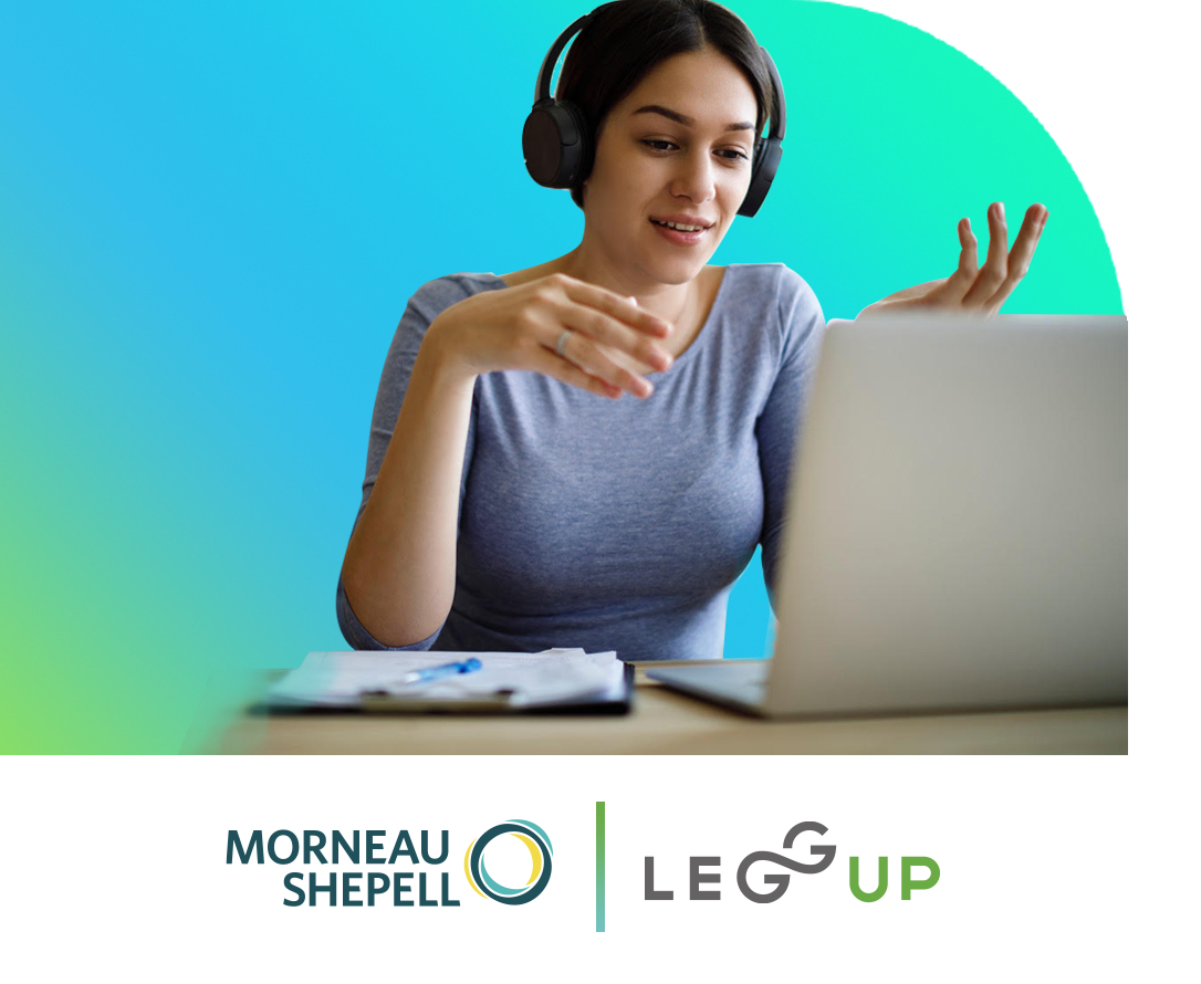 LeggUP Expands Mental Health Services Through Partnership with Morneau Shepell