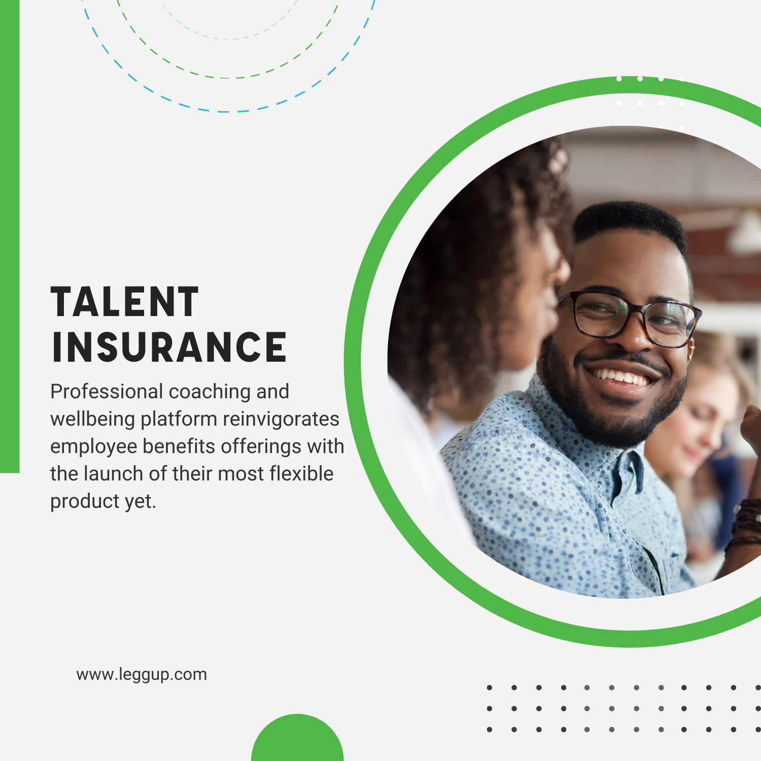 LeggUP Shakes Up Employee Benefits Industry With Talent Insurance