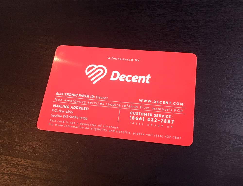 Decent card