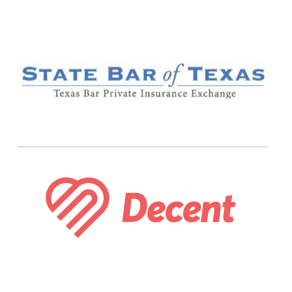 Sole practitioners in the state of Texas now have a new option. The Texas Bar Private Insurance Exchange and Decent have partnered up.