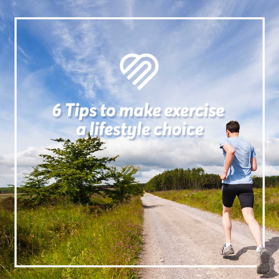 Building a habit based around exercising is one of the most important things you can do for yourself. Here's some tips on how to get moving