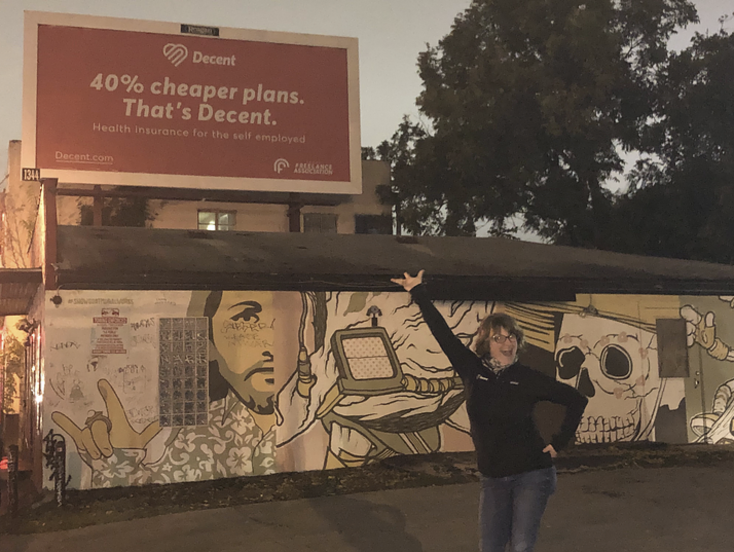 our billboards live in Austin
