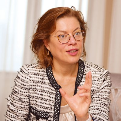 An image of Klara Jelinkova, CIO of Rice University