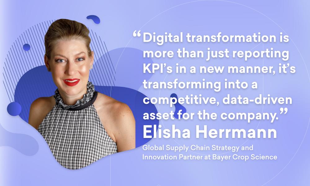 Portrait of Elisha Herrmann, Digital Transformation Specialist