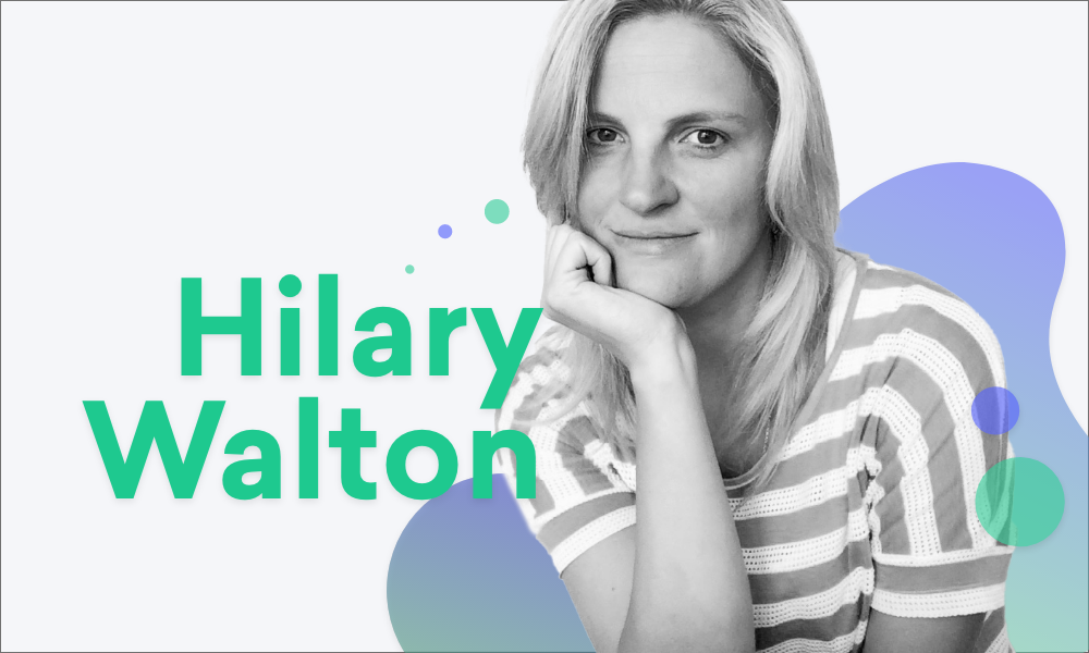 Photo of Hilary Walton, Chief Information and Security Officer at Kordia Group, looking at the camera in a relaxed but confident pose