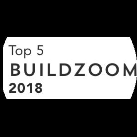 Buildzoom top 5 2018