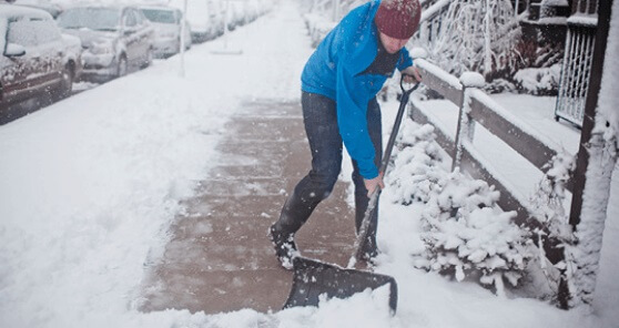Book a Snow Shoveling Job