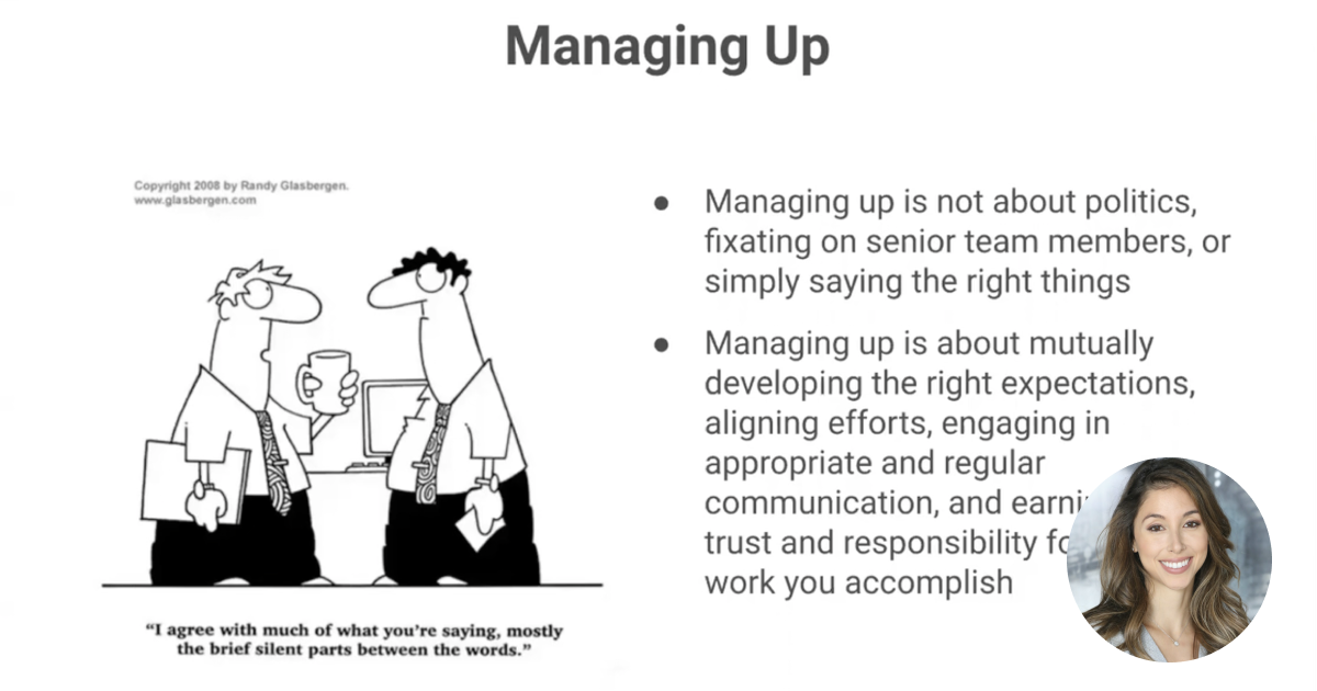 Frameworks - Leading From Behind & Managing Up