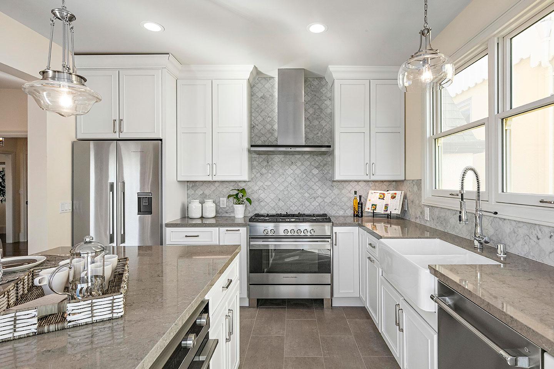 earth tone quartz kitchen countertops
