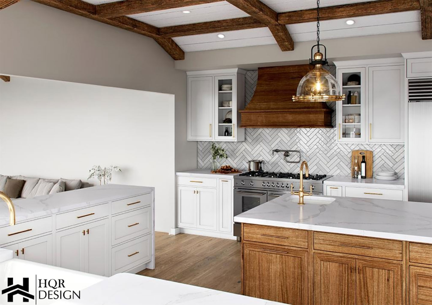 rustic kitchen counter areas