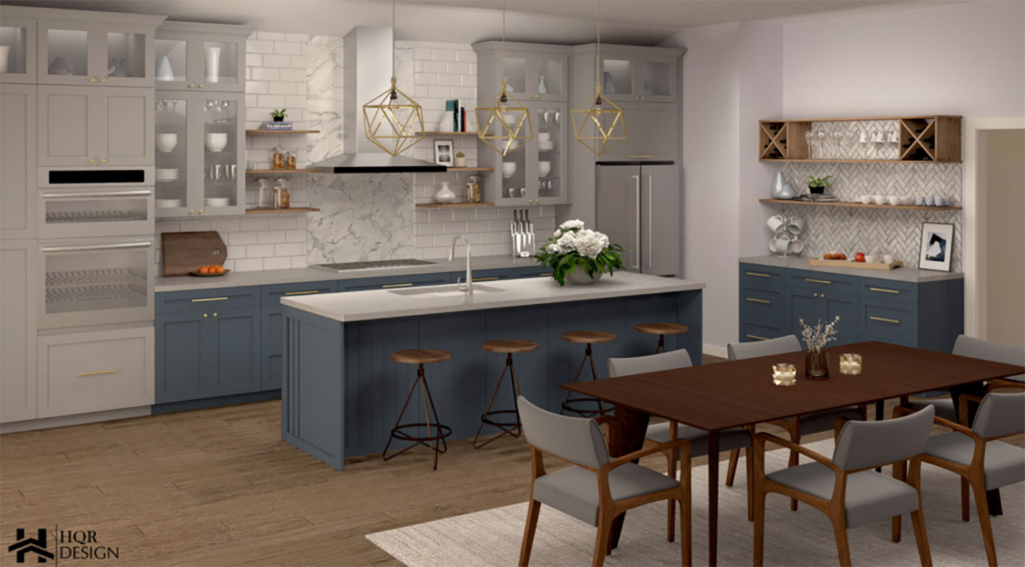 kitchen and dining room overivew