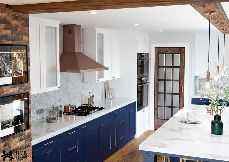 farmhouse kitchen overview
