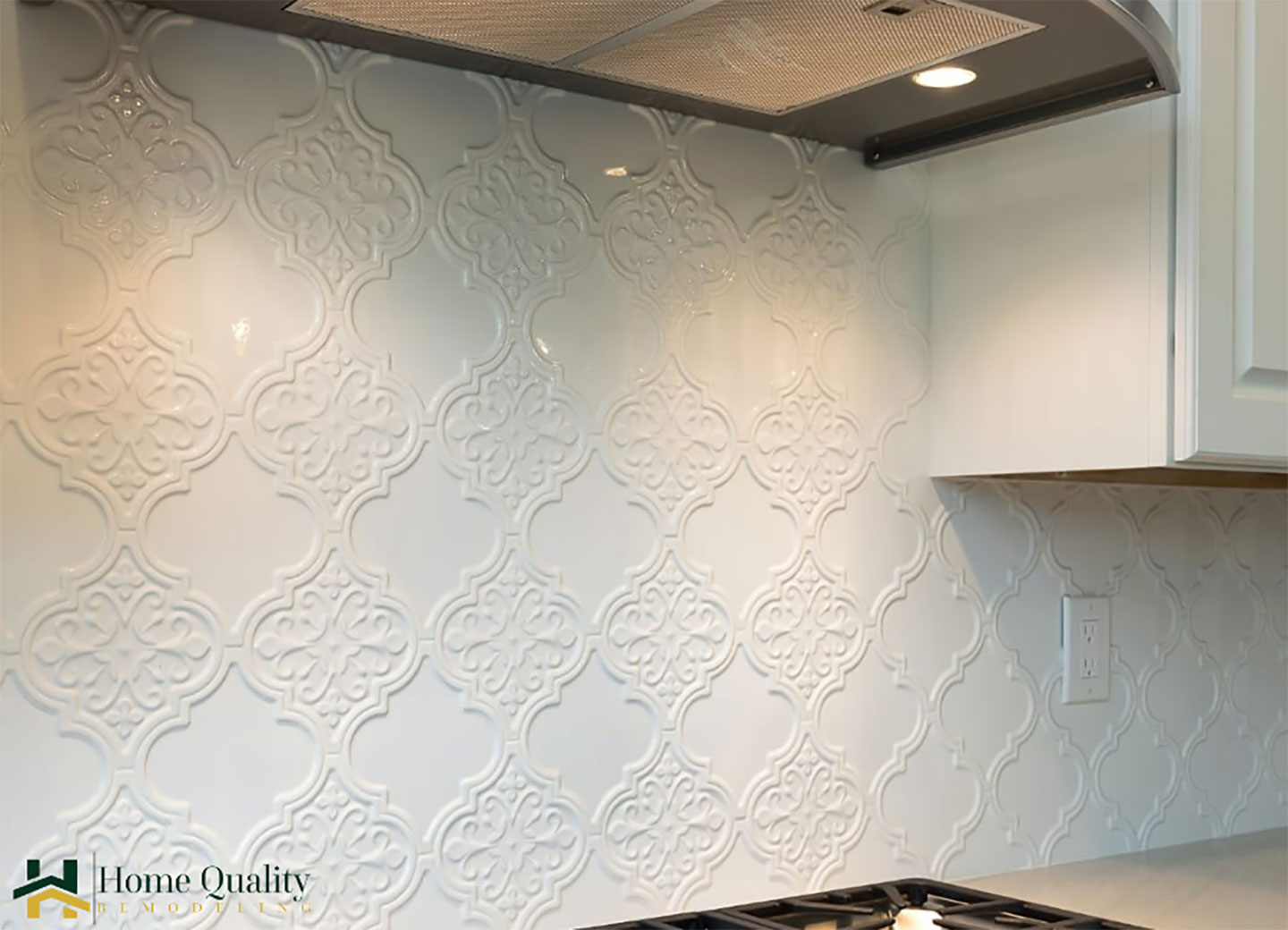 victorian backsplash pattern