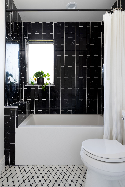 industrial bathroom overview