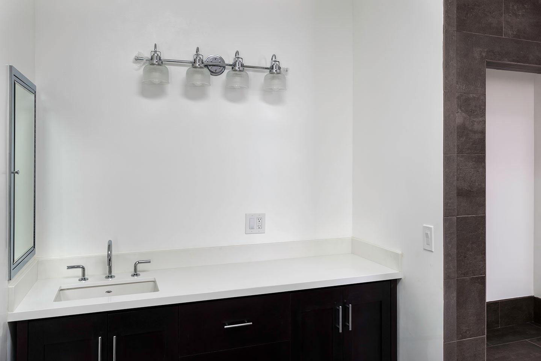 extra wide vanity single sink