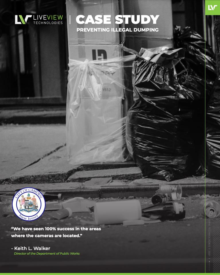 City of Camdem preventing illegal dumping