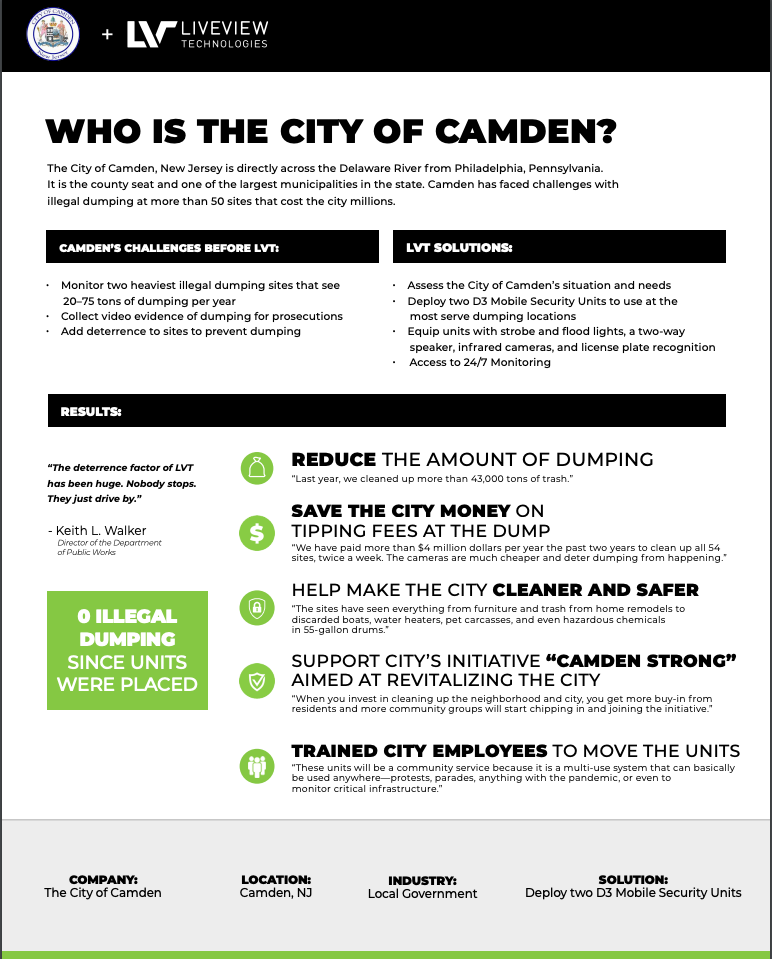 City of Camden Case Study