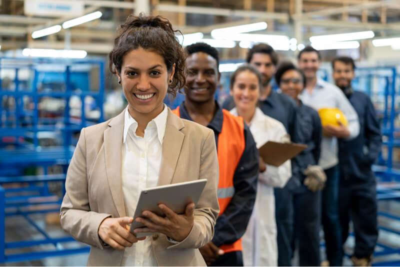 Large manufacturer factoring team
