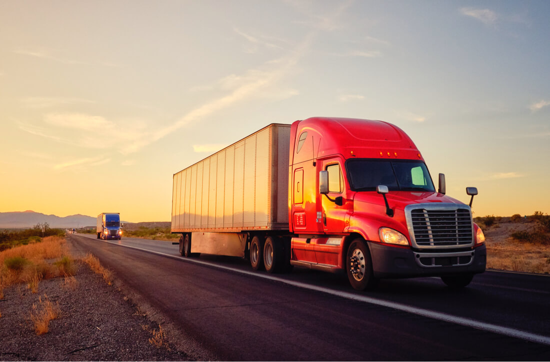 Trucking and international trade finance
