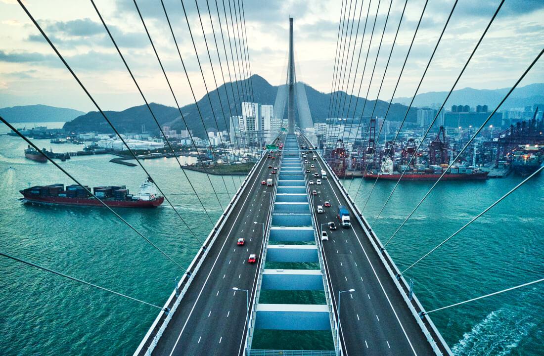 International business export import cargo