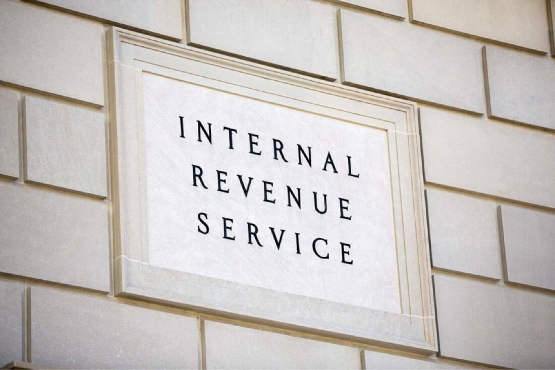 Wall sign internal revenue services