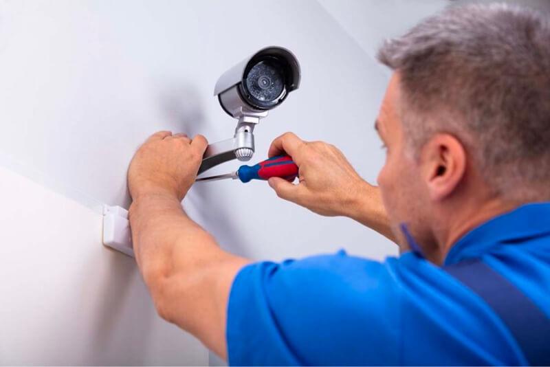 factoring security alarm installer camera