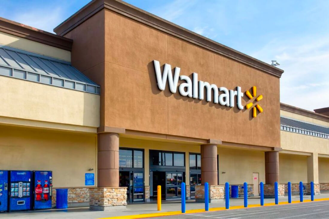 accounts receivables walmart dry food store