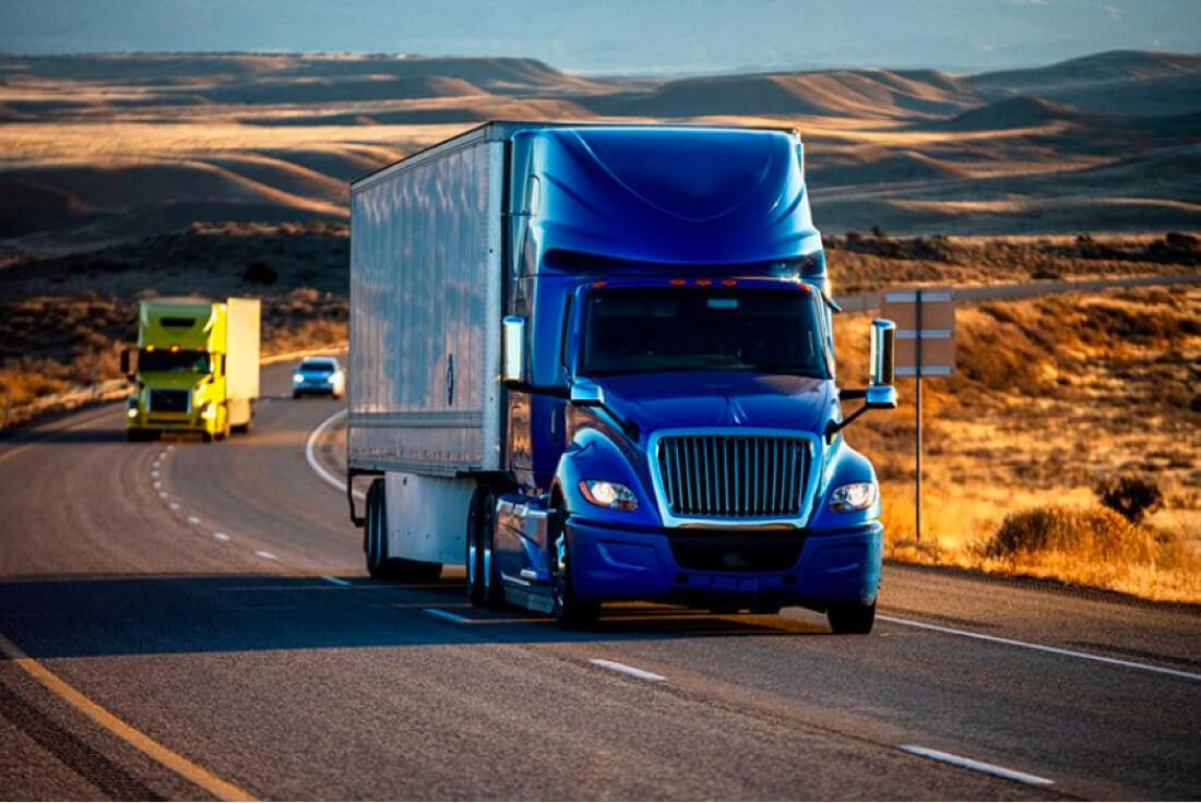 freight factoring truck
