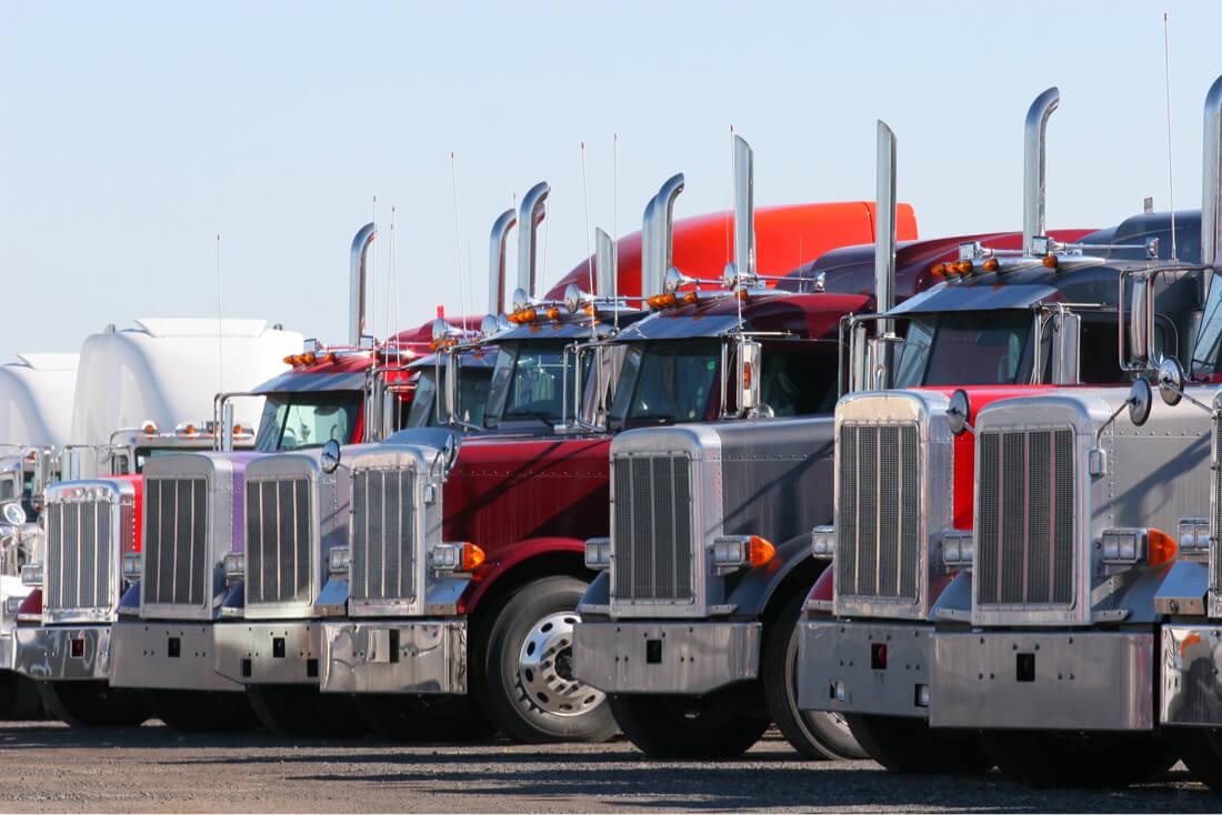 large trucking fleets