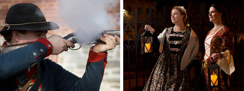 Patriots Week Reenactment Collage