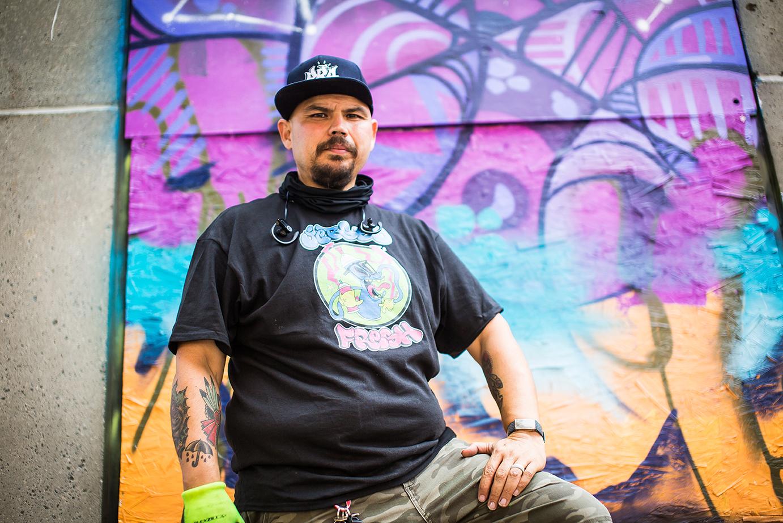 on Front Street Artist - Trenton NJ
