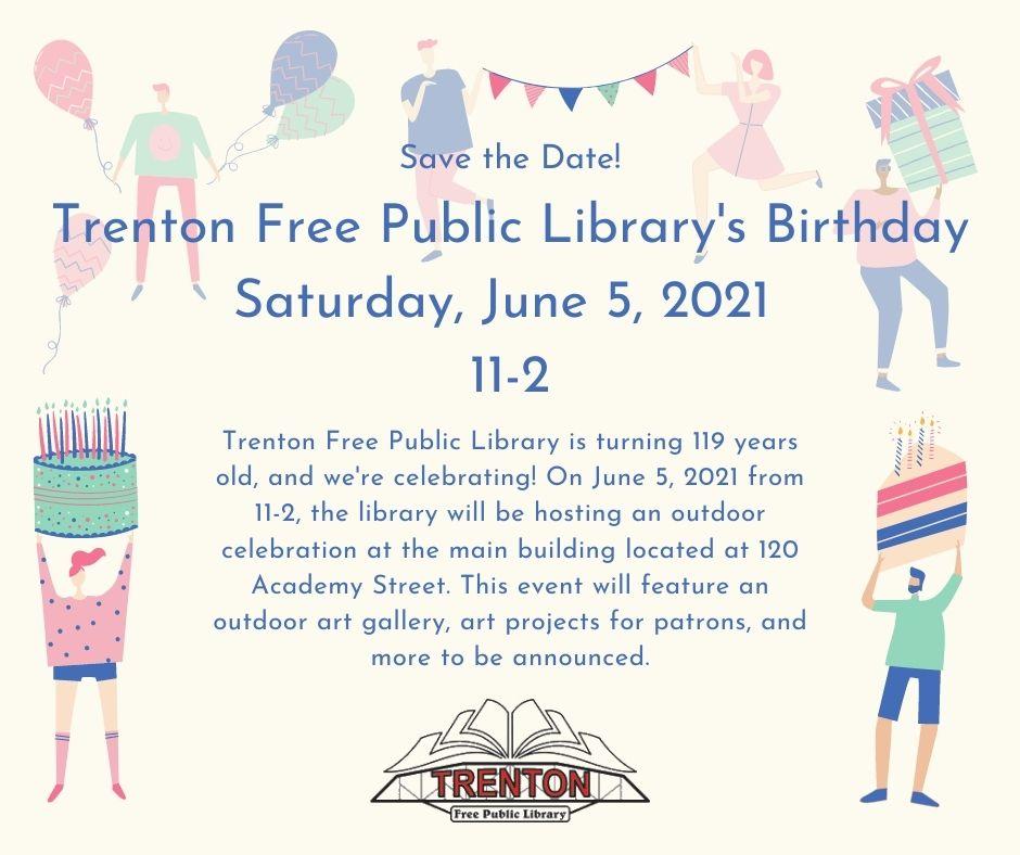 Trenton Free Public Library's Birthday Celebration