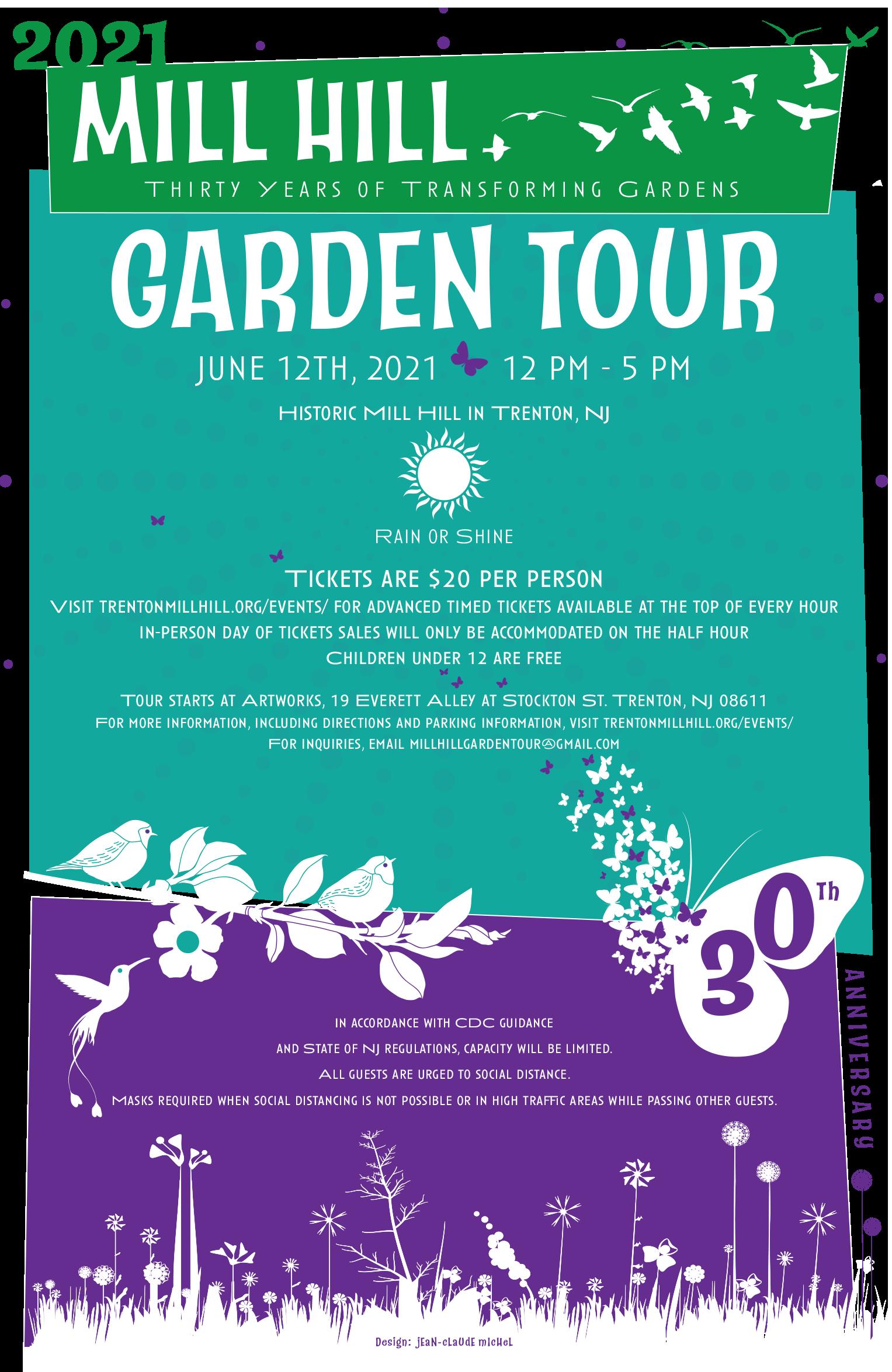 30th Annual Mill Hill Garden Tour