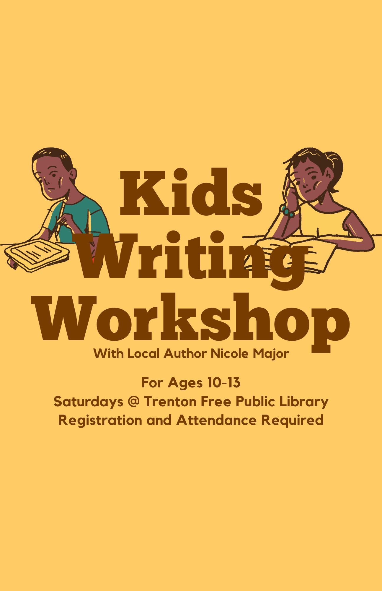 Writing Workshop for Pre-teens