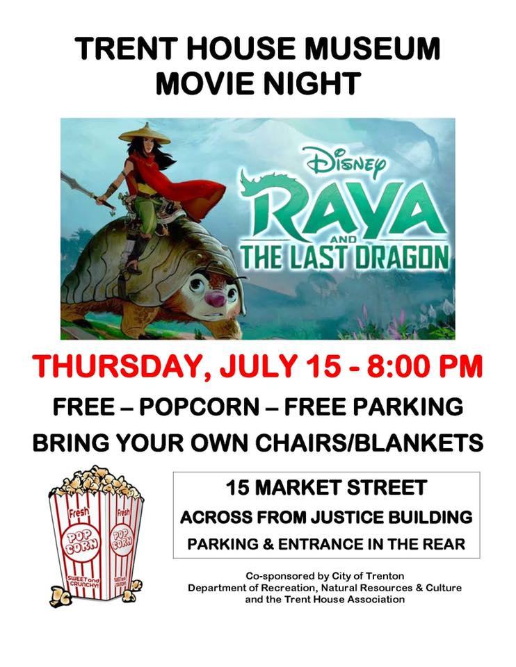 Trent House Movie Night: Disney's Raya and the Last Dragon