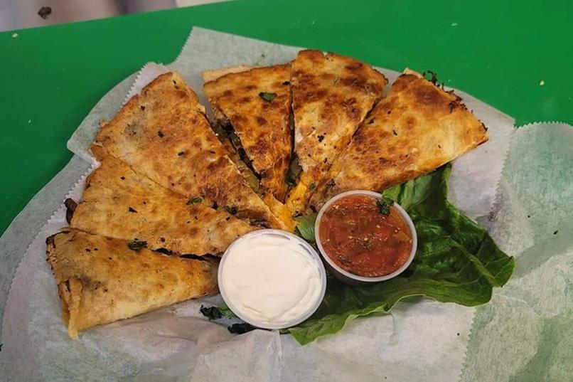 Lucky's Lunch Box Quesadilla - Trenton NJ Restaurant