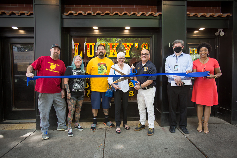 Downtown Trenton Welcomes Lucky's Lunchbox