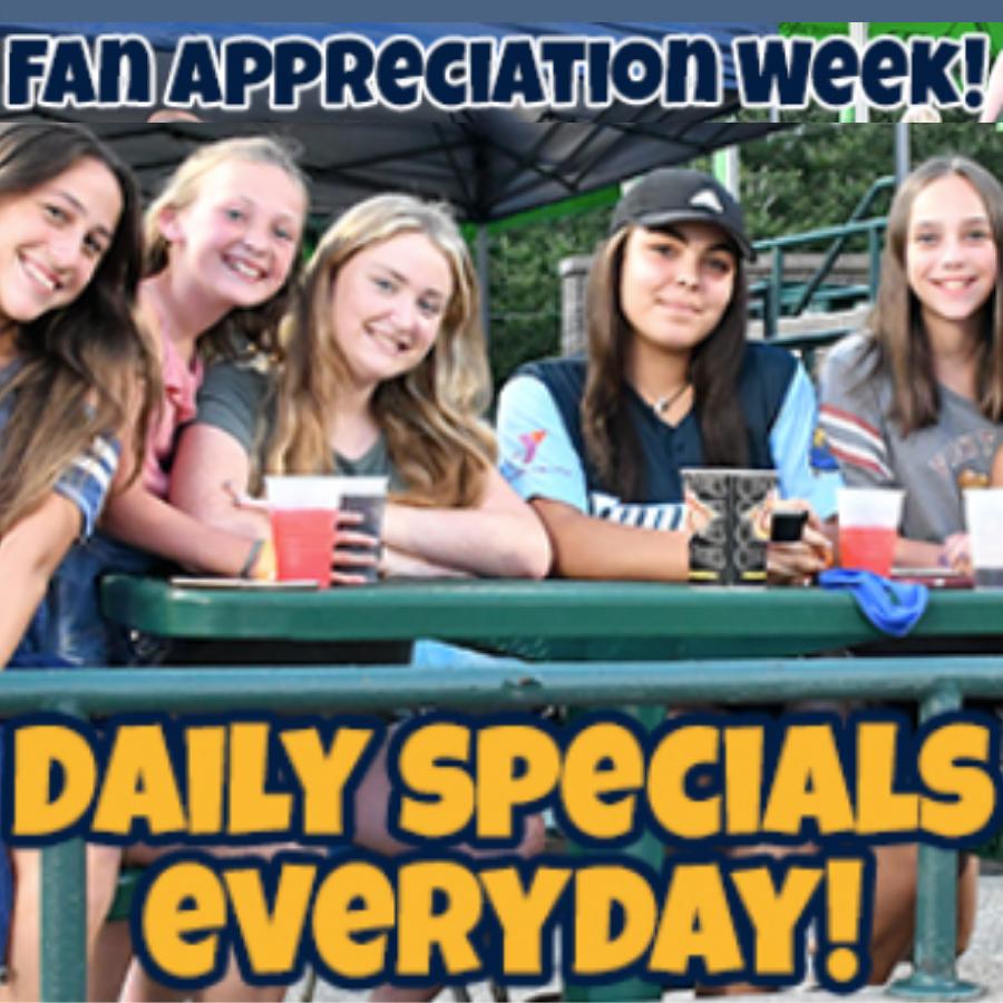 Trenton Thunder Fan Appreciation Week