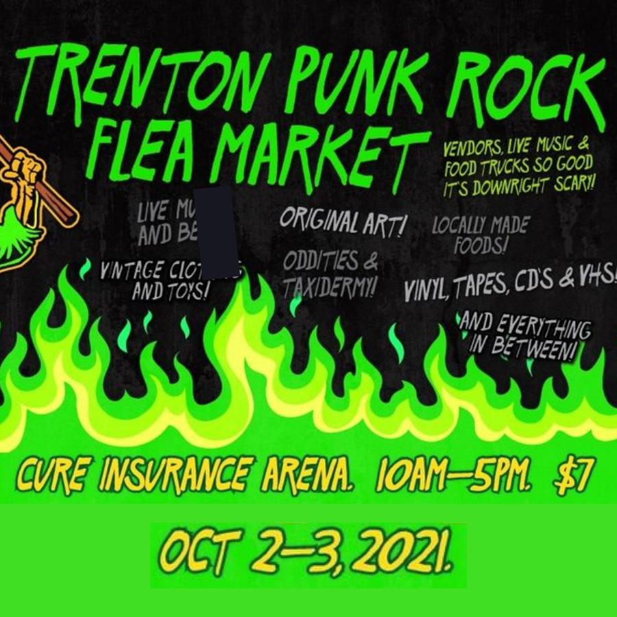 Trenton Punk Rock Flea Market: 2021 Halloween Market