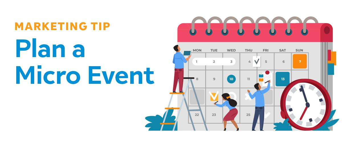 Plan a Micro Event