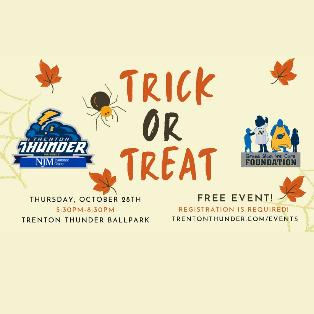 Trick or Treat at the Thunder
