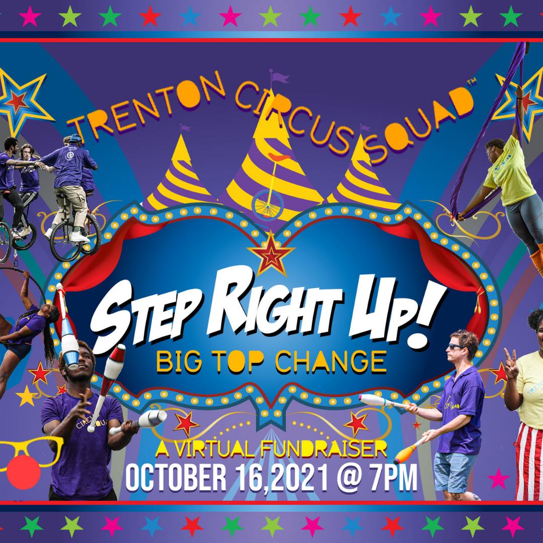 Step Right Up Trenton Circus Squad Fundraiser
