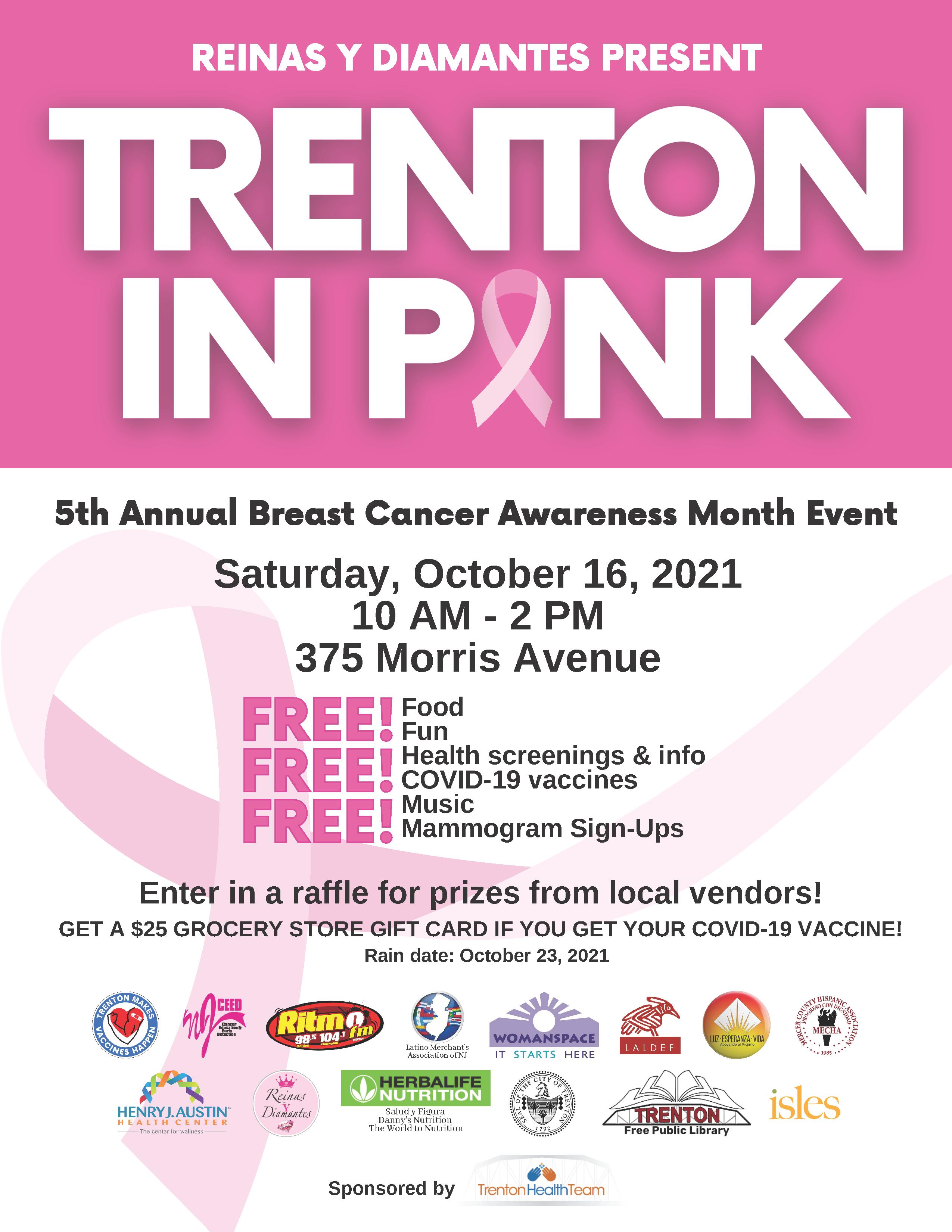 Trenton In Pink