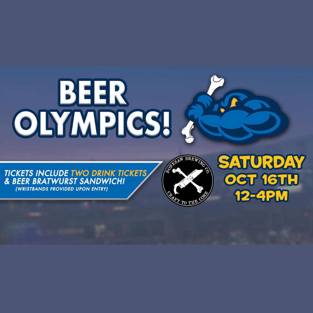 Beer Olympics by Bonesaw Brewing