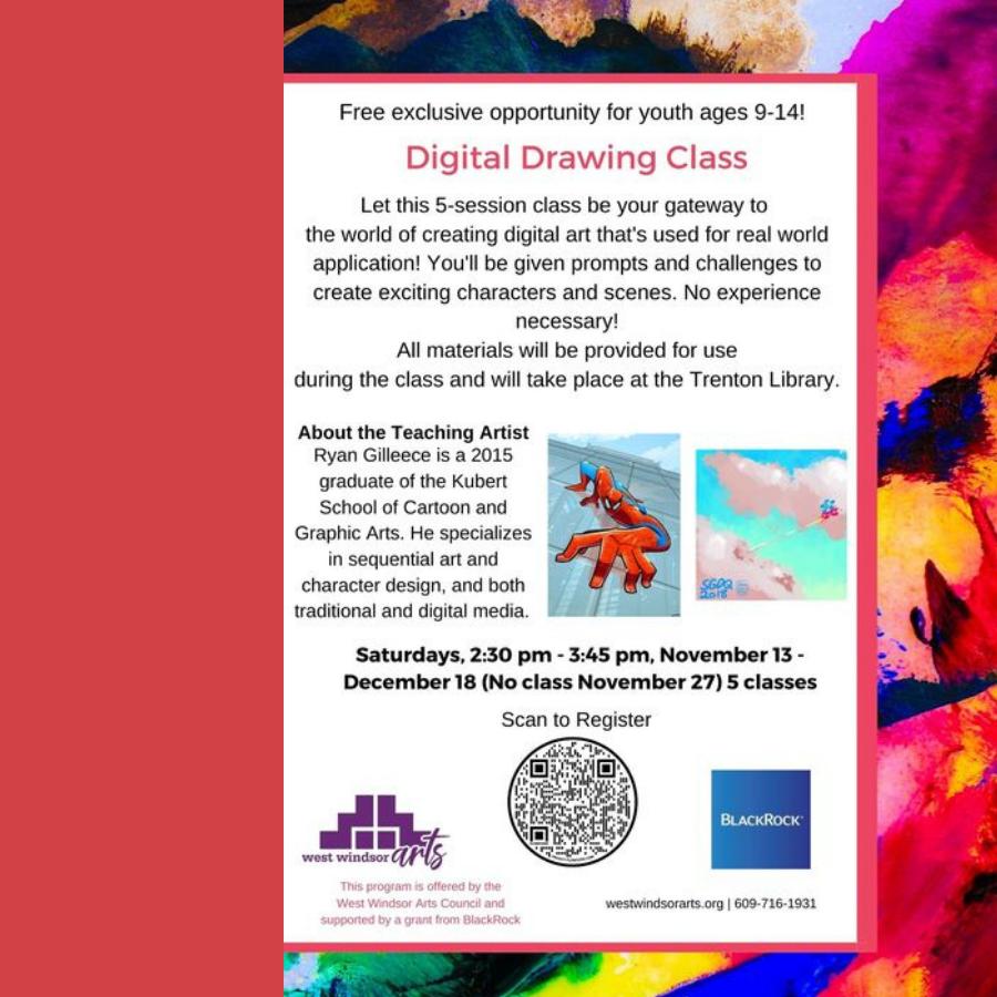 Digital Drawing Class