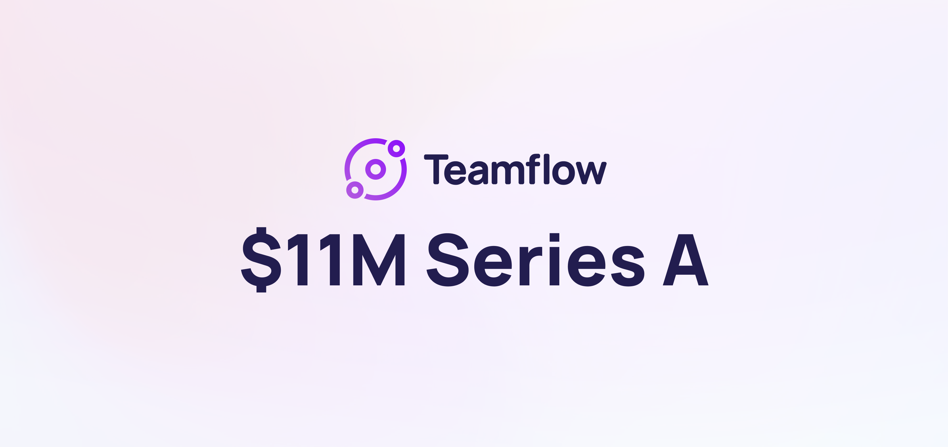 Announcing Teamflow's Series A