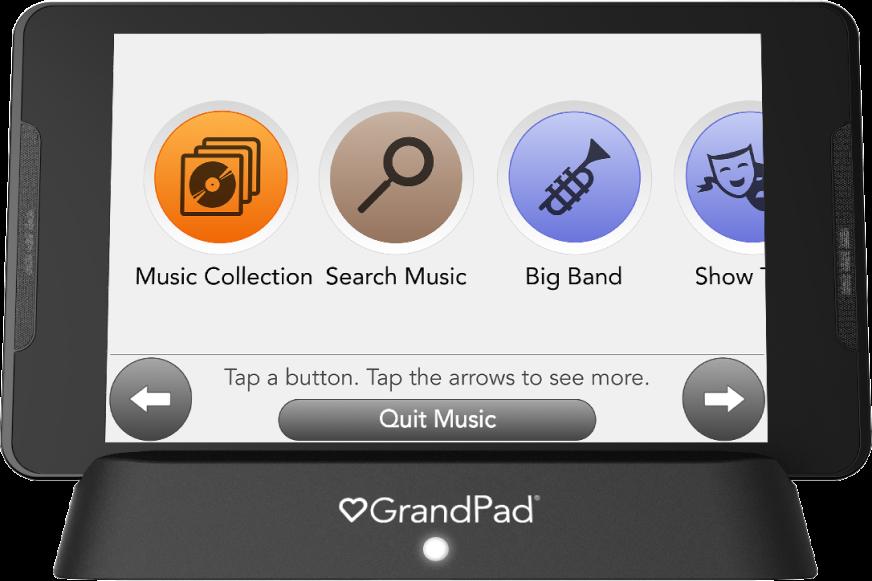 Music genre screen