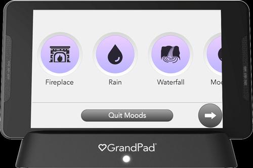 Moods, Ambience selector screen