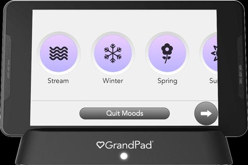 Moods, Nature selector screen