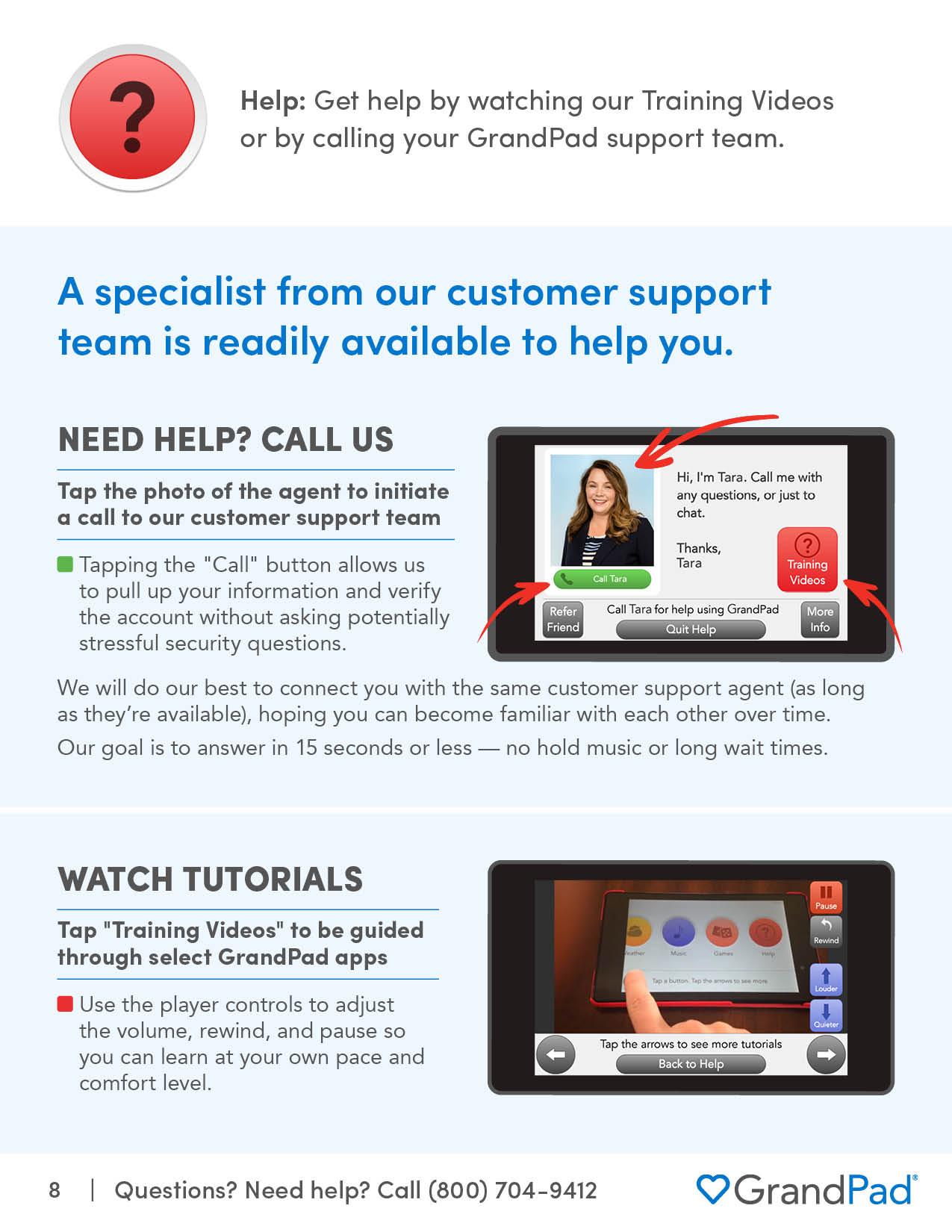 Instruction on using Help
